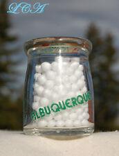TINY miniature CREAMLAND Albuquerque NEW MEXICO creamer MILK BOTTLE