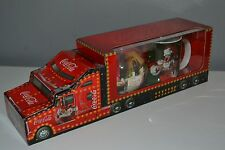 New Coca Cola Christmas Bauble And Mug In Cardboard Truck Holidays Are Coming