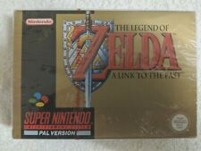 NINTENDO SNES -  ZELDA A LINK TO THE PAST (AUTHENTIC RED STRIP SEALED)