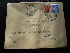 FRANCE - enveloppe 2/3/1954 (cy53) french