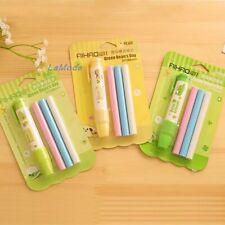 Retractable Mechanical Eraser Pen 3 Pack Assorted Color