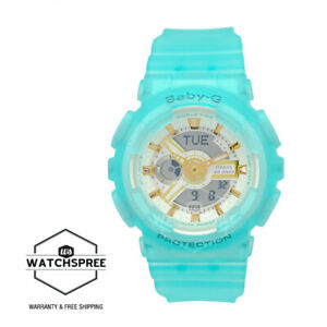Casio Baby-G Special Colour Models Semi Transparent Blue Resin Band BA110SC-2A