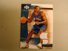 2003-2004 Sweet Shot #LS-J Latrell Sprewell Jersey Card BOX 22 New York Knicks