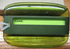 Green Lucid  Luggage Tags, Makes Your Baggage Easy To Spot!