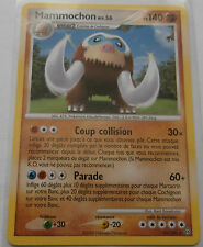 Carte Pokemon Mammochon 140 pv Diamant et Perle Tempête rare !!!