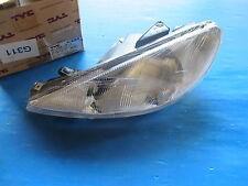 Optique de phare gauche TYC pour Peugeot 206 09/98->06/03 Pour lampe: H4