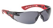 BOLLE RUSH + occhiali di sicurezza-rushppsf-UV di protezione degli occhi-SMOKE LENS