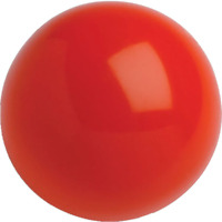 Paintballs Less Lethal .68 Cal 3.6 Grams Self Defense Nylon Solid 100 Balls Red