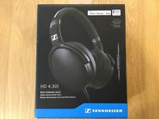 Sennheiser HD 4.30i Around-Ear Headphones for iOS - Black - NEW