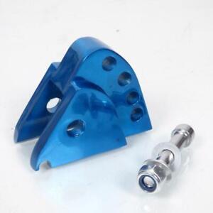 Erhöhung Hintere Stoßdämpfer TNT Roller MBK 50 Spirit 2003 Blau Eloxiert Neu