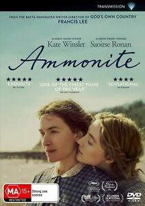 AMMONITE - DVD, NEW SEALED AUSTRALIAN RELEASE REGION 4 lot 271