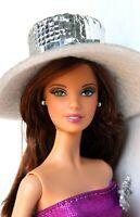 Barbie Doll Tim Gunn Brunette Model Muse Redressed Beautiful