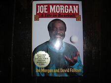 "MLB, Vintage 1993 hardback book, ""Joe Morgan, A Life in Baseball"", excellent c"