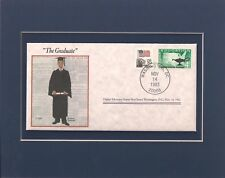 Norman Rockwell - The Graduate - Frameable Postage Stamp Art - 0252