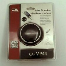 Cyber Acoustics 2.0 mini USB Speaker System - 1.5 W RMS CA-MP44