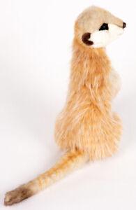 Meerkat / Meercat by Hansa - realistic plush soft toy - 32cm - HTC4576