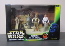Purchase of the Droids 3 Pack 1997 STAR WARS Power of the Force POTF MIB