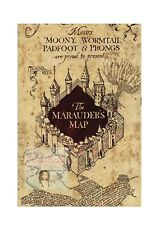 HARRY POTTER MARAUDERS MAP CAKE TOPPER EDIBLE PRINTED ICING CAKE DECORATION