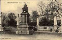 Clermont-Ferrand Frankreich ~1910 Statue de Blaise Pascal Denkmal Verlag Bougé