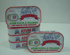 (5x)Portuguese solid tuna fish Tomato sauce and Oregano 110gr - GALEAO-Portugal