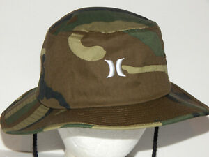 Hurley High Tai Camo Boonie / Bucket Hat S/M Adjustable Strap