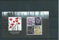 GB MINIATURE SHEET - 2006 - LEST WE FORGET - BATTLE OF THE SOMME - FINE USED