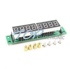 2PCS MAX7219 CWG 8-Digit Digital Tube Display Control Module Red for arduino