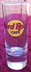 Hard Rock Cafe Shot Glas EDINBURGH CORDIAL HRC Glass
