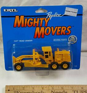 1989 CAT Road Grader Ertl Mighty Movers Replica Rare Vintage 1848 CATERPILLAR