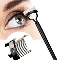 Eyelash Comb Lash Separator Mascara Lift Curl Tool Metal Brush Beauty Makeup CA