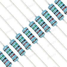 Metal Film Resistors 1W 1% 0.22 10K 100K 1MΩ 1000K 1K Ohm - Full Range of Values