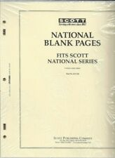 Pkg. of 20 SCOTT ACC120 National Blank Pages 3 Hole 2 Post