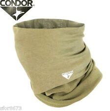 Condor Micro Fleece Multi Wrap Beanie Head Cover Scrim Scarf Neck Face Warmer Coyote Tan (ct)