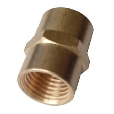 "1/4"" Female NPT Brass Pipe Fitting Female Coupling Connector Water Boat"