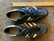 RARE Vintage adidas SPEED Original 70's Leather Soccer Shoes Made in France 6
