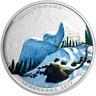 2017 Snowy Owl Landscape Illusion 1OZ Pure Silver $20 Proof Coin Canada