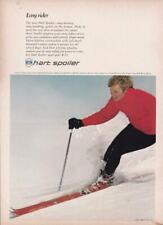 1970 Hart Spoiler Skis Ad / Corky Fowler