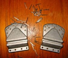 NOS PAVARIN Extra Deep Nail On Alloy Shoe Cleats- - Alloy - Erocia! Patent 1971!
