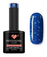 430 VB™ Line Blue Ocean Glitter - UV/LED soak off gel nail polish