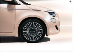 Fiat 500E Seitenzierleisten Chrom 3 + 1Türer Original Zubehör