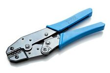 Trinquete Herramienta que prensa Alicates De Crimpado Cable de Alambre Sin Aislamiento Terminales 0.5-6mm²