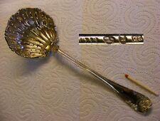 Jugendstil 830er Schwedisches Silber - grosses Teesieb von 1881