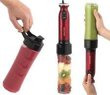 SALTER RED NutriTwist Blender Juicer Smoothie Maker Hand Blender Power EK2187