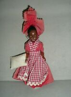 Vintage New Orleans Souvenir Cultural Doll '60s Traditional Outfit