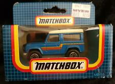 MATCHBOX MB-16 LAND ROVER 90 BLUE & WHITE - NEW in OPENED BOX