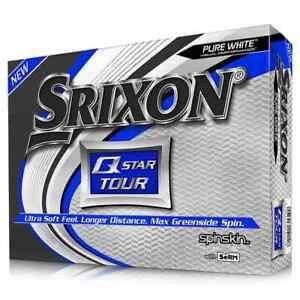 SRIXON Q STAR TOUR 1 DZ GOLF BALLS - WHITE - NEW IN BOX - VALUE!