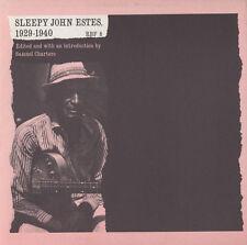 Sleepy John Estes - Sleepy John Estes, 1929-1940 [New CD]