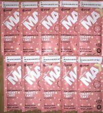 Pruvit HEART TART Keto Max! 10 Packets Charged!! New! (SHIPS FAST) USA SELLER!!