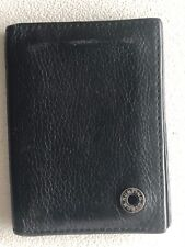 Authentic HUNTING WORLD DarkBrown Leather Wallet