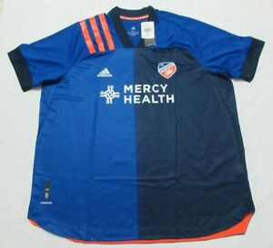 Adidas MLS FC Cincinati  Men Soccer Jersey 3XL